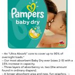 NEW Pampers Baby Dry