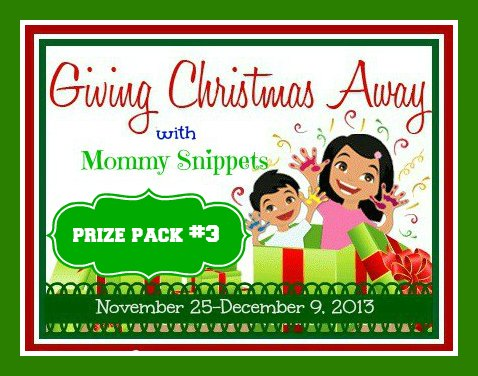 Prize Pack #3 Giving-Christmas-Away-2013
