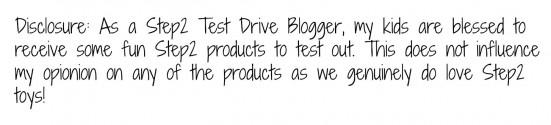 Step2 Test Drive Blogger Disclosure