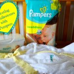 Celebrating baby's milestones with Pampers Swaddlers