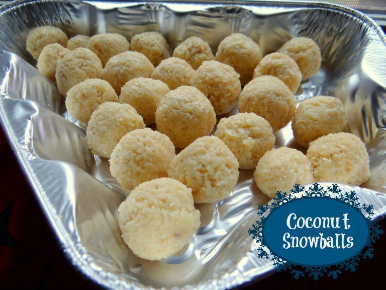 Coconut Snowballs Recipe