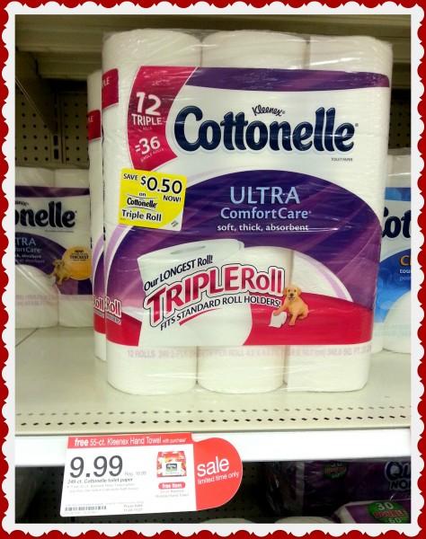 Cottonelle Triple Roll- Target