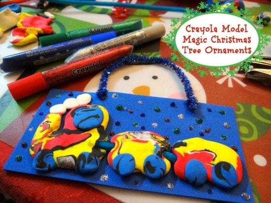 Crayola Model Magic Christmas Tree Ornaments