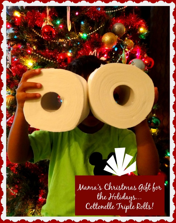 Mama's Christmas Gift for the Holidays...Cottonelle Triple Rolls!