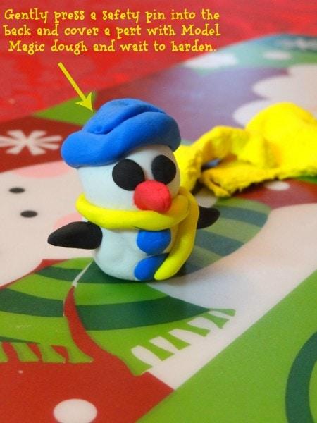 Model magic Snowman
