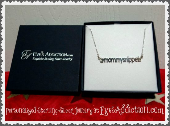 Personalized Sterling Silver Jewelry at EvesAddiction.com - Mommy Snippets