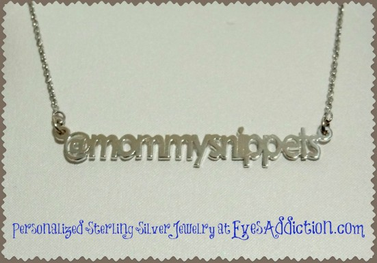 Personalized Sterling Silver Jewelry at EvesAddiction.com