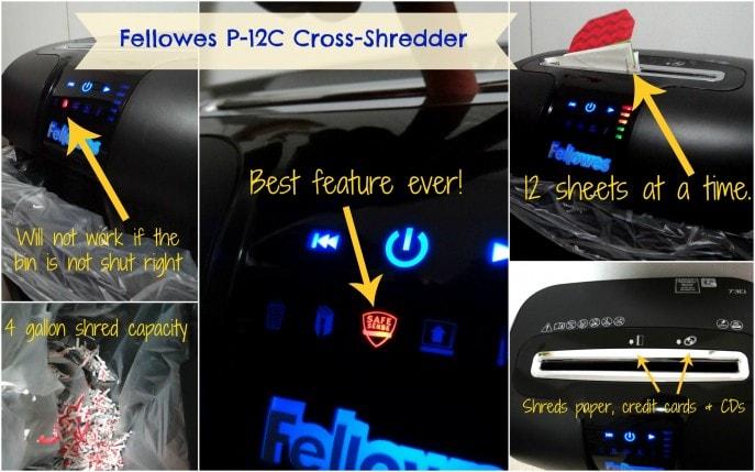 Fellowes P-12C Cross-Shredder