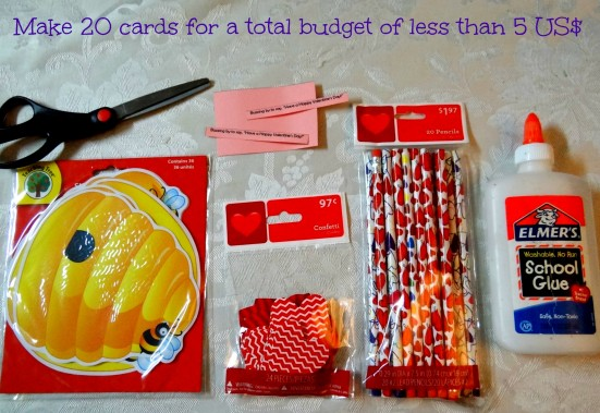 How to make inexpensive Valentine's Day Cards- Mommy Snippet's Tutorial (2)