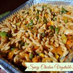 Spicy Chicken Vegetable Pasta Recipe (Cooking with Handi-foil)