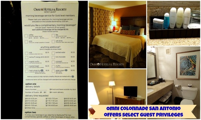 omni colonnade san antonio offers select guest privileges