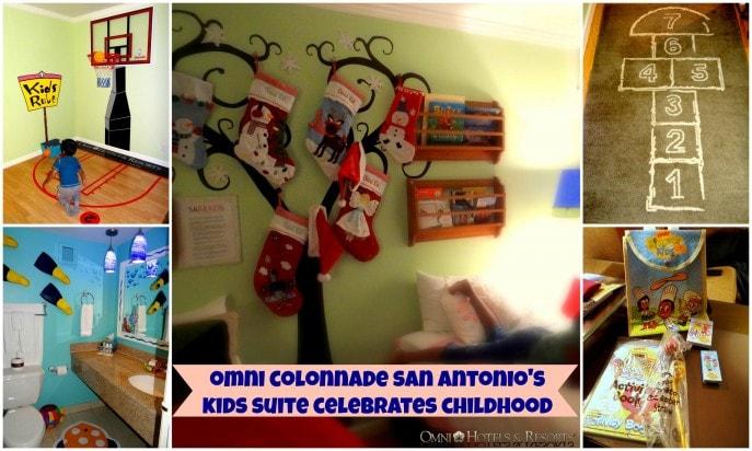 omni colonnade san antonio's  kids suite celebrates childhood!