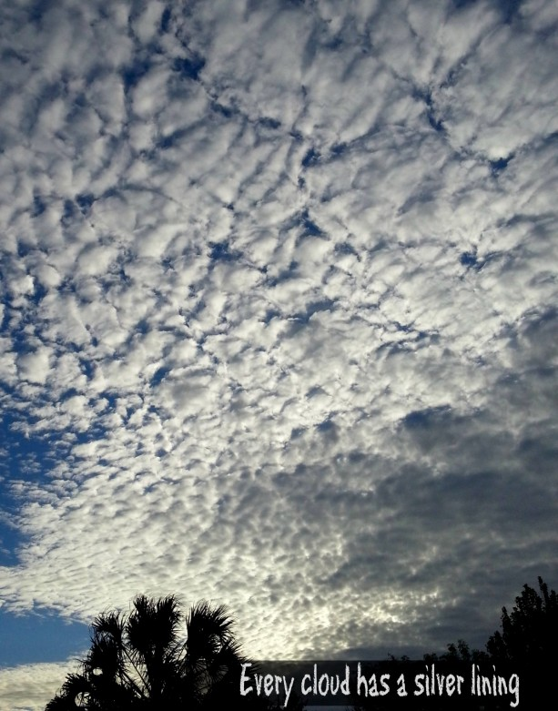 Every cloud has a silver lining- Mommy Snippets