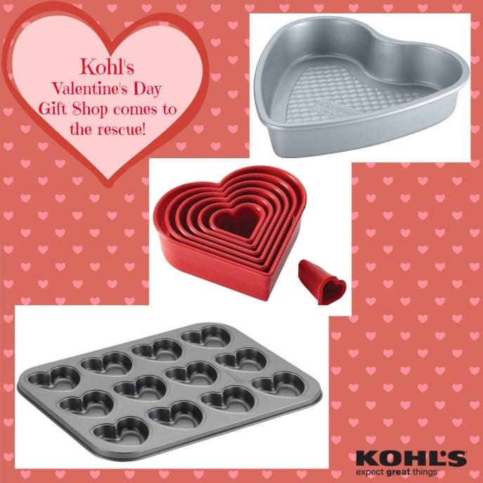 Kohl's Valentine's Day Gift Shop comes to the rescue!