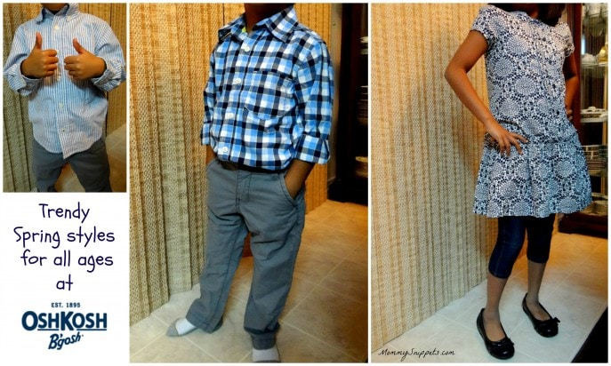 Trendy Spring styles for all ages at OshKosh B'gosh