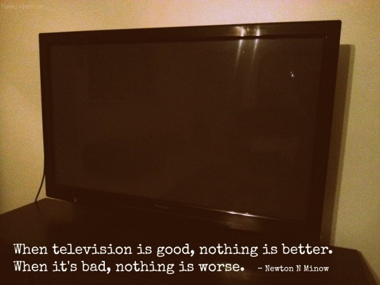 When television is good, nothing is better. When it's bad, nothing is worse. Newton N. Minow