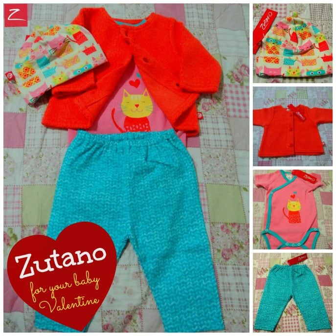 Zutano for your baby Valentine