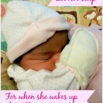 Let her sleep- Mommy Snippets copyright pic