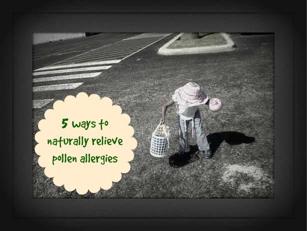 5 ways to naturally relieve pollen allergies
