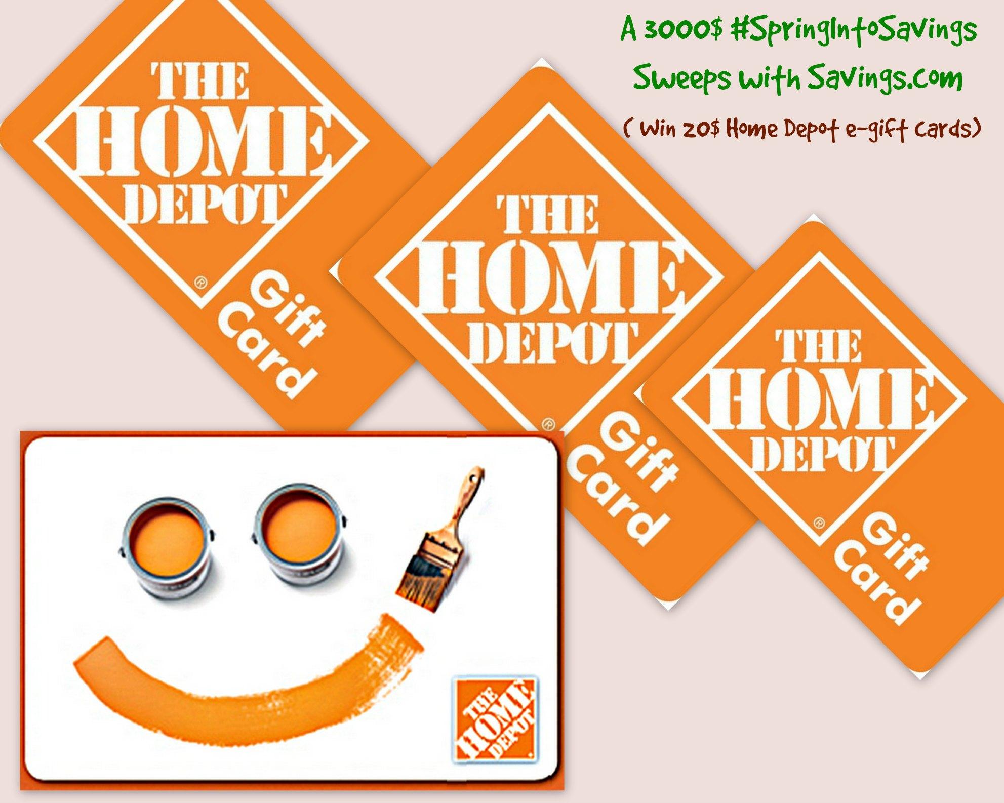 Home depot egift card home design 2017 - Home decor home depot concept ...