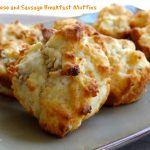 Easy Sausage and Cheese Breakfast Muffins {Recipe}