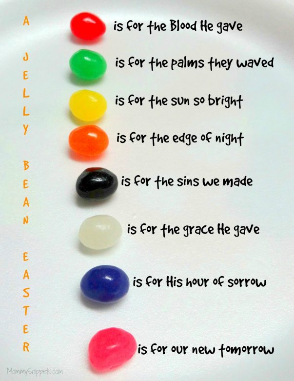 Jelly Bean Easter Story