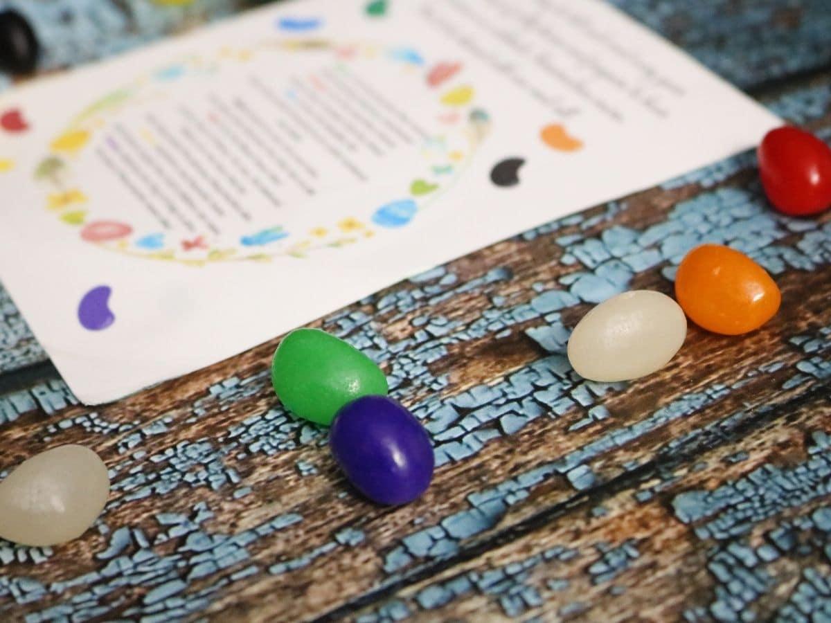jelly bean poem
