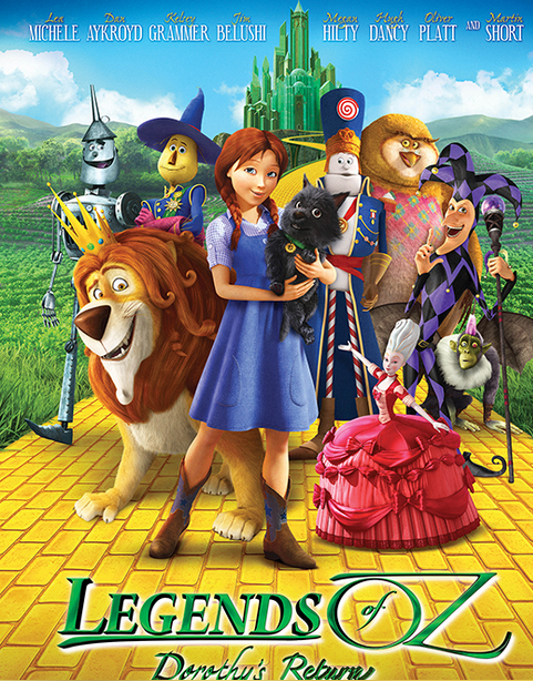 Legends of OZ  Dorothy's Return   OZ Movie, Film 2014, Wizard of OZ Sequel