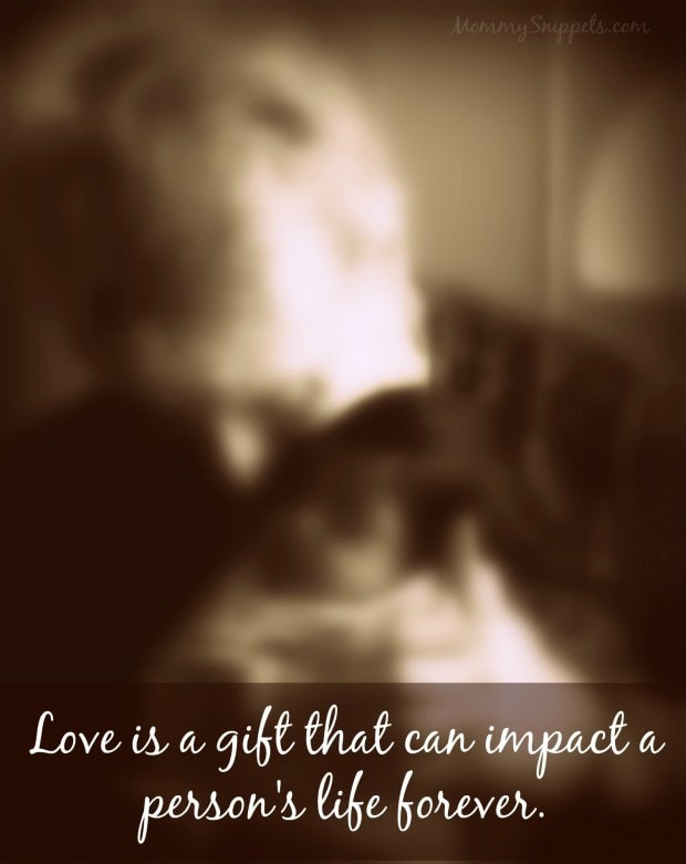 Love is a gift quote