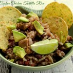 Slow-Cooker Chicken Tortilla Rice