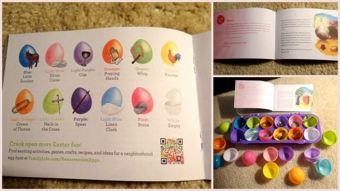 image regarding Resurrection Eggs Story Printable titled Coaching young children the Easter tale with Resurrection Eggs