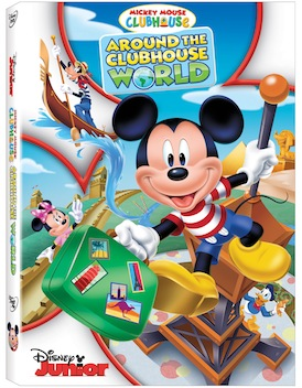 """We received a copy of  """"Around the Clubhouse World"""" DVD for review. All opinions expressed are the author's own."""