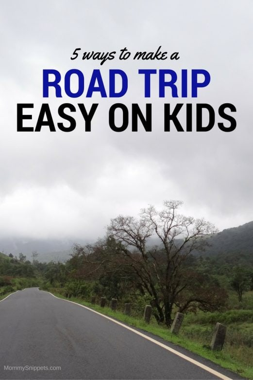 5 ways to make a road trip easy on kids- MommySnippets.com #Travel #FallForPennzoil #ad