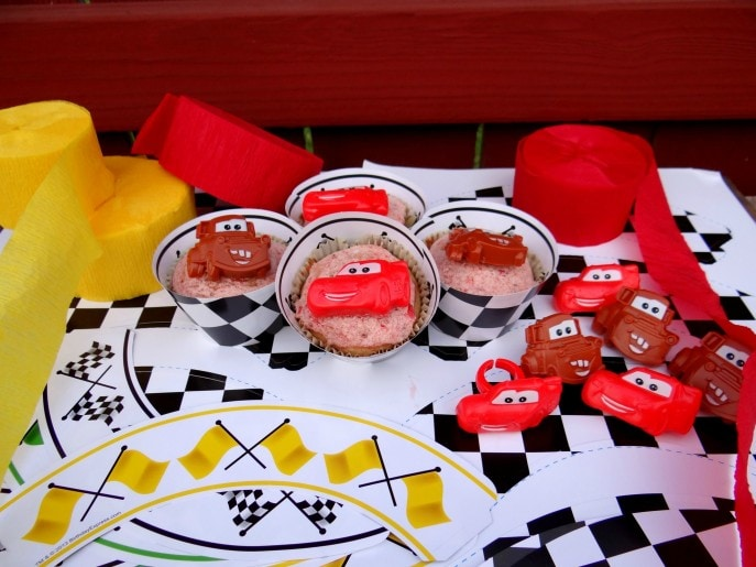 How to throw a Disney Cars themed party