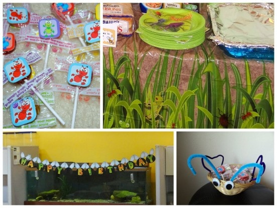 How to throw an Insect or Bug themed party.