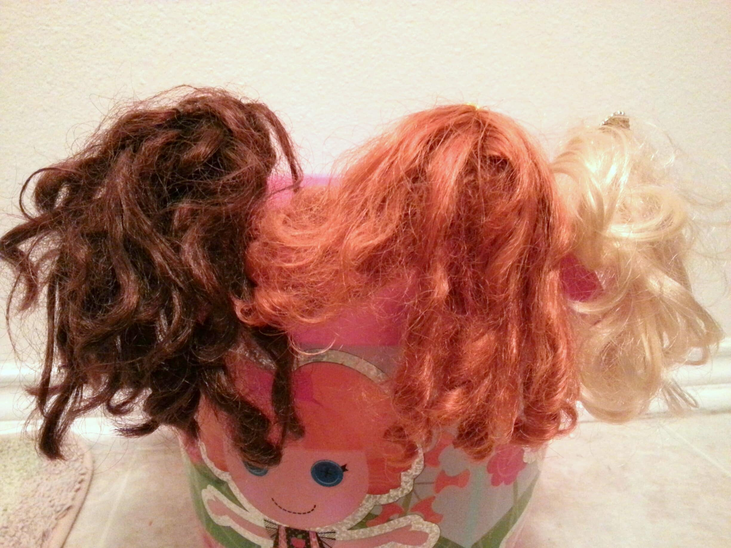 How To Untangle Matted Hair On A Doll Best Hack Ever