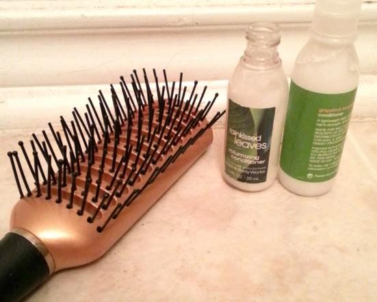 Brush, conditioner