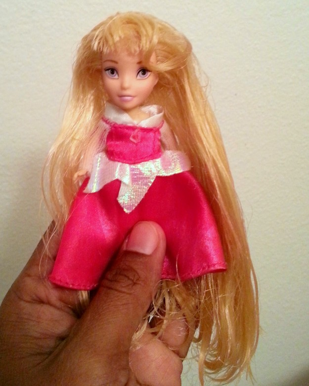 How to untangle matted hair on a doll   Best Hack Ever!