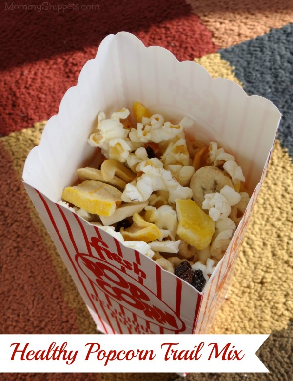 Healthy Popcorn Trail Mix for Movie Night {#StreamTeam} - Mommy ...