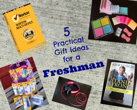 5 Practical Gift Ideas for a Freshman