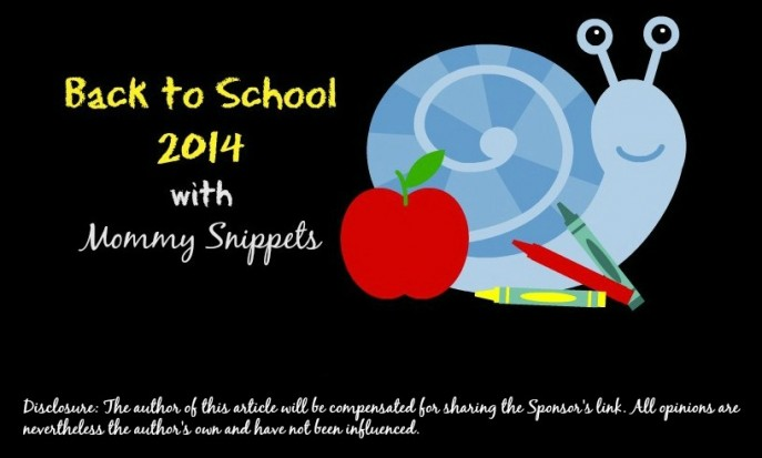 Back to School with Mommy Snippets sponsored