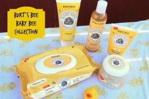 Burt's Bee Baby Bee collection