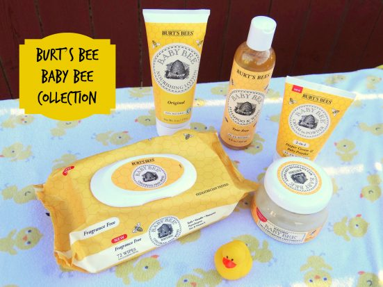 Burt's Bee Baby Bee collection