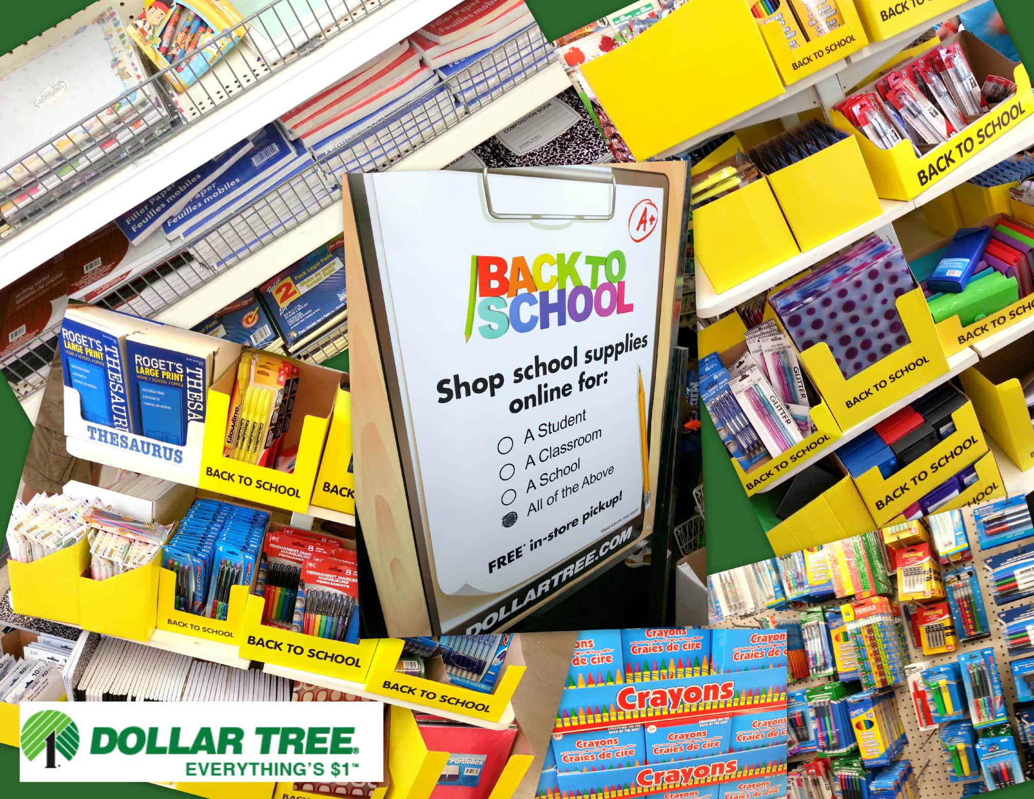 5f4c8d9a65 Dollar Tree makes back-to-school shopping affordable. - Mommy Snippets