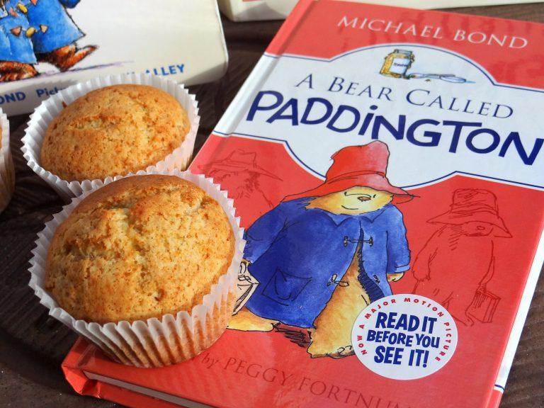 Orange Marmalade Nut Muffins and Paddington