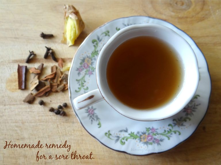 How to Nip a Sore Throat in the Bud With an Easy Homemade Remedy