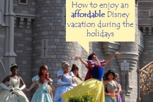 How to enjoy an affordable Disney vacation during the holidays