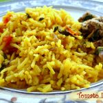 Tomato Rice {My Quick Comfort-Food-On-A-Rainy-Day Recipe}