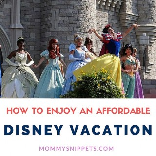 How to enjoy an affordable Disney vacation