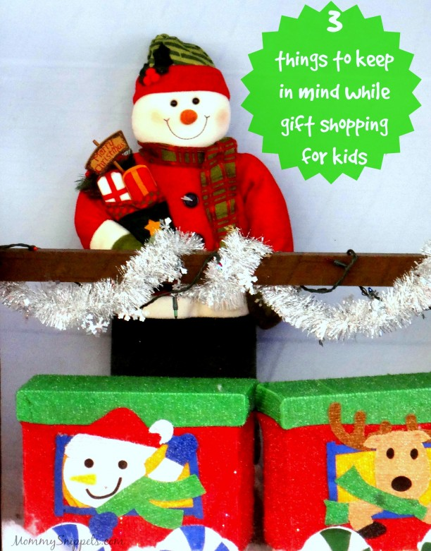 3 things to keep in mind while gift shopping for kids- Mommy Snippets